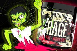 Warrior Rage NO fokozó edzés előtti formula több ízben 392g