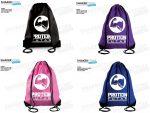 Proteinfutár Gym Sack Gym Bag tornazsák több színben
