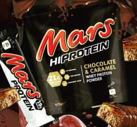 Mars Hi Protein tejsavófehérje-koncentrátum fehérje por 875g