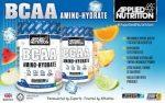Applied Nutrition BCAA Amino-Hydrate aminósav készítmény 1 adagos tasakos kiszerelés 450g Koffeinmentes és cukomentes