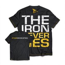 Dedicated Premium edzőtrikó, póló The Iron Never Lies