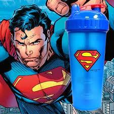 Limitált Perfect Shaker Hero Series Szuperhős Sorozat 800ml Superman