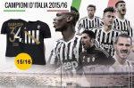 Adidas Juventus Campioni 34 bajnoki póló