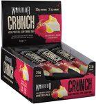 Warrior Crunch Protein Bar fehérje szelet 64g Málnás-Citromos Sajttorta íz