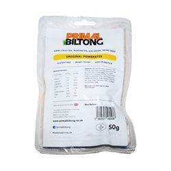 Primal Biltong Beef Jerky szárított marhahús proteindús snack 50g