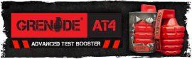 Grenade AT4 Advenced Test Booster természetes tesztoszteron-fokozó kapszula