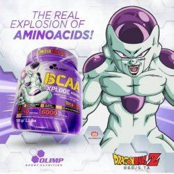 Olimp BCAA Xplode Powder por 500g Dragon Ball Limited Edition