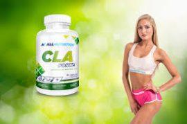 Allnutrition CLA Forte 90db 1000mg-os zsírégető Gélkapszula diéta, fogyás