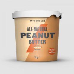 Myprotein 100% Mogyoróvaj - Peanut Butter  Természetes mogyoróvaj hozzáadott cukor és só nélkül 1kg