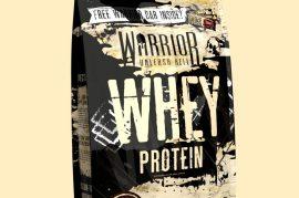 Warrior Whey Fehérje Protein komplex 1000g több ízben (tejsavó-koncentrátum és tejfehérje)