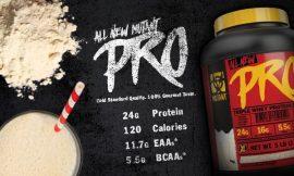 MUTANT PRO 100% GOURMET WHEY PROTEIN SHAKE tejsavó fehérje koncentrátum, izolátum és hidrolizátum komplex 2,27kg több ízben