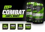 MusclePharm Combat 100% Whey 100% tejsavó fehérje (koncentrátum és izolátum keverék) 907g