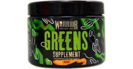 Warrior Greens bio zöld növényekből gyümölcsökből álló superfood szuper élelmiszer keverék 150g Narancs íz