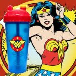 Limitált Perfect Shaker Hero Series Szuperhős Sorozat 800ml Wonder Women