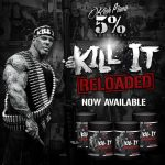 Rich Piana 5% Nutrition Kill It Reloaded edzés előtti stimuláns NO fokozó 513g