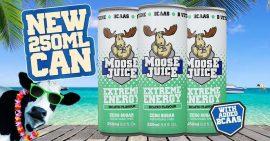 Muscle Moose Juice energiaital 250 ml szénsavas több ízben Cukormentes (BCAA, koffein,taurin, karnitin, B-vitamin)