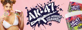 AK-47 LABS AK-47 Paranoia NO fokozó edzés előtti por 240g
