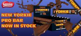 Nestle Yorkie PRO Bar protein fehérje szelet 24db/karton 24x41,5g