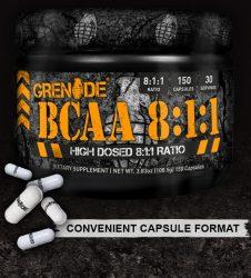 Grenade BCAA 8:1:1 150db kapszula