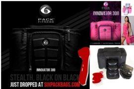 Six Pack Fitness Innovator 300 modern ételhordó táska munkába edzőterembe