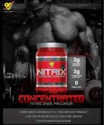 BSN Nitrix 2.0 előtti stimuláns, bedurrantó, NO fokozó 180db tabletta