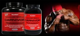 Musclemeds Carnivor - Beef Protein Isolate Hidrolizált marhafehérje, marha fehérje Laktózmentes és tejtermékmentes! 1808g