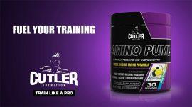CUTLER NUTRITION AMINO PUMP MUSCLE BUILDING AMINO FORMULA izomépítő aminósav készítmény 285g