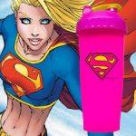 Limitált Perfect Shaker Hero Series Szuperhős Sorozat 800ml Supergirl