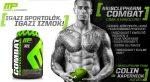 MusclePharm Combat Protein Powder Sport több komponensű 8 órás felszívódású fehérje 1,8kg