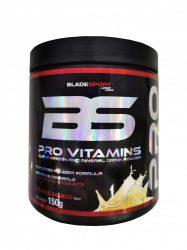 Blade Sport Pro Vitamin komplex multivitamin ásványi anyag és edző pak ízesített por kiszerelés 150g ( BladeSport )