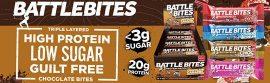 Battle Oats Battle Bites 62g fehérje szelet sütemény