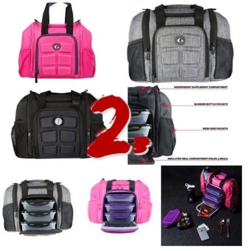 Six Pack Fitness Innovator Mini modern ételhordó táska munkába edzőterembe 5d02662a2a
