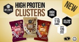 Dr Zak's Zaks High Protein Cluster fehérje cukorka édesség 30g