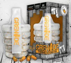 Grenade Thermo Detonator Fat Burner Stim Free stimulánsmentes zsírégető kapszula 80db