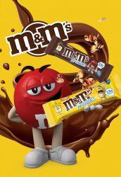 M&M's Hiprotein protein fehérje szelet 1db (1x51g)