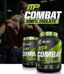 MusclePharm Combat 100% Isolate Protein fehérje tejsavófehérje-izolátum 907g