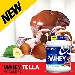USN Blue Lab 100% Whey Premium Protein tejsavó fehérje koncentrátum, hidrolizáum és izolátum komplex 2kg