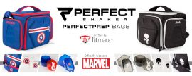 Fitmark Perfect Shaker The Shield Captain America The Punisher ételhordó táska ételhordó táska munkába edzőterembe