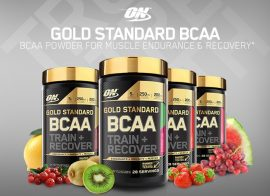 OPTIMUM NUTRITION GOLD STANDARD BCAA TRAIN+SUSTAIN 2:1:1 266g