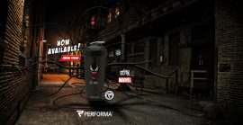 Limitált Perfect Shaker Hero Series Szuperhős Sorozat 800ml Venom