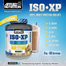 Applied Nutrition Iso-XP 100% Hydrolyzed tejsavófehérje Izolátum cukor-. zsír és laktózmentes 2000g