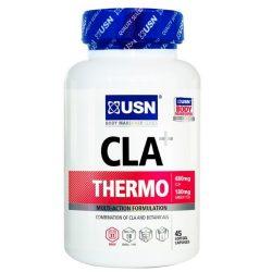 USN CLA Thermo zsírégető Gélkapszula Zöld Teával kíméletes és tartós fogyásért 45db