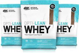 Optimum Nutrition Lean Whey fogyást támogató fehérjekészítmény L-carnitinnal Zöld tea kivonattal és CLA -val 780g