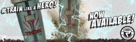 Limitált Perfect Shaker Hero Series Szuperhős Sorozat 800ml Thor