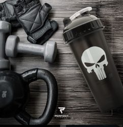 Limitált Perfect Shaker Hero Series Szuperhős Sorozat 800ml Punisher