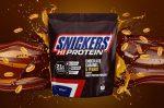 Snickers Hi Protein tejsavófehérje-koncentrátum fehérje por 875g