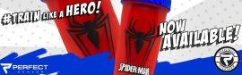 Limitált Perfect Shaker Hero Series Szuperhős Sorozat 800ml Spiderman (Pókember)