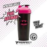 Limitált Perfect Shaker Hero Series Szuperhős Sorozat 800ml Pink Batman