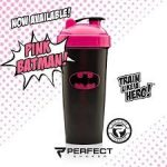 Limitált Perfect Shaker Hero Series Szuperhős Sorozat 800ml Pink Batman