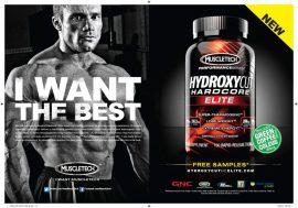 Hydroxycut Hardcore Elite 180db komplex zsírégető kapszula (nagy kiszerelés)